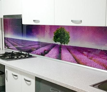 Sticla decorativa bucatarie baie camera Skinal Print